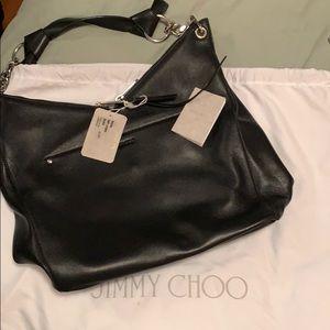 51888c3408 Jimmy Choo Bags - Jimmy Choo Raven Napa Black Handbag